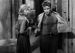 marlon brando as stanley kowalski and vivien leigh as blanche  marlon brando as stanley kowalski and vivien leigh as blanche dubois in a streetcar d