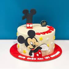 mickey mouse cake lÉle bakery kids