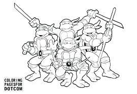 Inspirational Teenage Mutant Ninja Turtles Coloring Pages