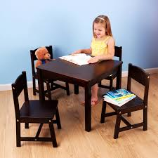 Table Set For Kids Kidkraft Farmhouse Table And 4 Chairs Set Multiple Colors