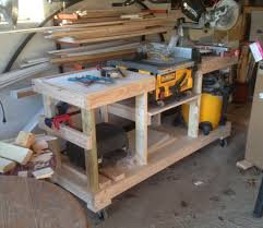 table saw stand. table saw stand