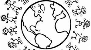 Small Picture Around The World Coloring Pages Of Children Page We Are All