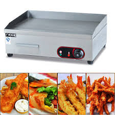 us indoor griddle grill machine warmer electric small stainless commercial 3000w