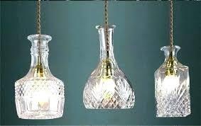 wine bottle hanging lamp kit aigledemeauxclub wine bottle pendant light kit