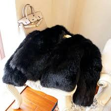 thicken fluffy black fox fur coat n36 fur coat women coat with 66 29 piece on makemefly s dhgate com