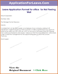 doc leave application form for employee doc leave 6 employee leave application format leave application form for employee