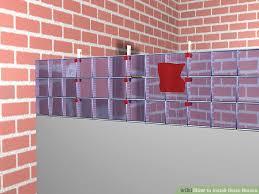image titled install glass blocks step 8