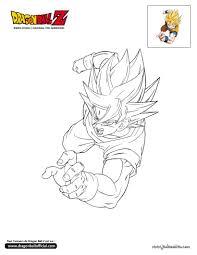 Colorier En Ligne Dragon Ball Z Pinterest Dragon Ball