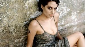 картинка Short Hair Tattoos Angelina Jolie Women короткие волосы