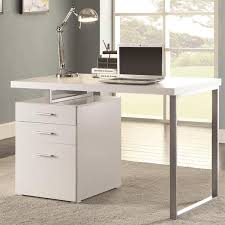 home office drawers. Unique Home Modern Design Home Office White Writing Computer Desk With Drawers And  File Cabinet And Home Office Drawers