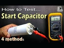 fan motor start capacitor how to test motor start and motor run ac capacitor of ac fan motor start capacitor