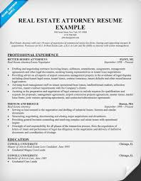 real estate attorney resume example realtor resume example