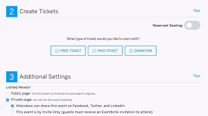 Samples Of Tickets For Events How To Create And Edit Ticket Types Eventbrite Help Center