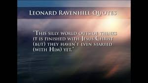 It's a bit like 'this life' meets 'trainspotting'. Leonard Ravenhill Quotes