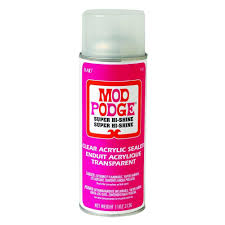 Design Master Clear Coat 11oz Pottery Sealer Mod Podge 11 Oz Super High Shine Spray Products Mod
