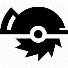 tools icon. carpenter, joiner, power saw, tools icon