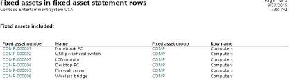 Fixed Asset Depreciation Schedule Fixed Asset Register Template Lytte Co