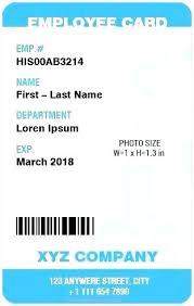 Blank Id Card Template Custom Identity Card Template Free Download Crugnalebakeryco