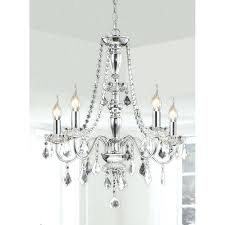 5 light led crystal chandelier ring house of