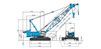 Kobelco 300 Ton Crawler Crane Load Chart Cke1350 Kobelco Construction Machinery Co Ltd