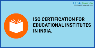 Education About Iso Certification In India Legalaraasta
