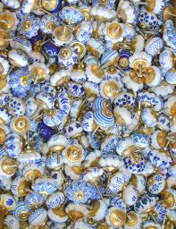 Decorative Handmade Assorted Ceramic Knobs Drawer Pulls Etsy