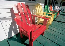 Perfect Painted Wood Patio Furniture E Intended Modern Design