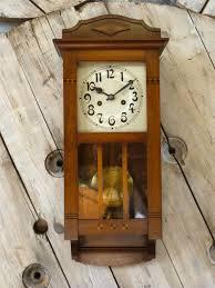 arts crafts wall clock c 1910