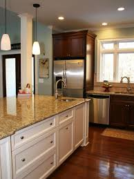 Wall Cabinets Kitchen Dark Kitchen Cabinets With Light Walls Quicuacom