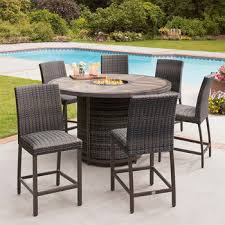 agio st louis 7 piece woven bar height fire set cover