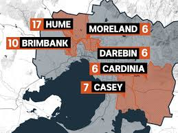 Due to victoria's unfortunate coronavirus pandemic relapse, the state's health authorities are tightening up restrictions again. Where Are Victoria S Coronavirus Hotspots And How Are Authorities Dealing With Them Abc News
