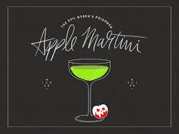evil queen s poisoned apple martini