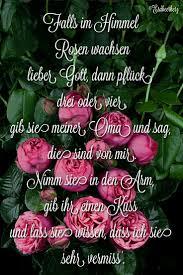 Oma Ich Vermisse Dich Trauer Oma Sprüche Traurige Sprüche Und