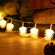 Cone Lights Christmas Promotional Pine Cone String Pine Cone Christmas Tree Lights