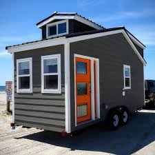 tiny mobile home on wheels