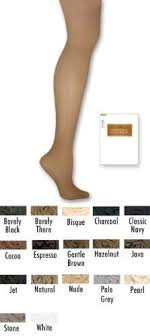 Hanes Hosiery Color Chart Pin On Style