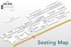 Del Mar Breeders Cup Seating Chart Del Mar Interactive Seating Chart