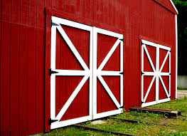 red barn door. Paint Barn Door Furniture Red A