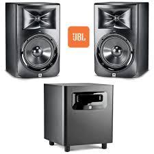 jbl lsr305 pair. jbl lsr studio monitor package lsr305 pair with lsr310s subwoofer jbl lsr305