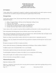 Jobion For Home Health Aide Resume Skills Awesome Sample