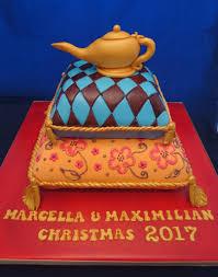 Cake Walk Cake Designs Aladdin Themed Joint Birthday Cake Geraldine Horton Flickr