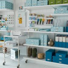 home office storage boxes. Bigso Turquoise Stockholm Office Storage Boxes | The Container Store Home
