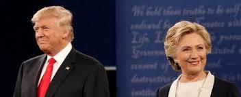 Risultati immagini per foto insieme di Trump e Hillary
