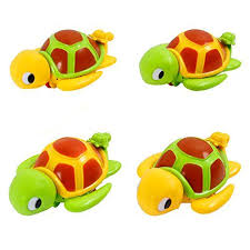 SGILE Swimming Turtle Floating Bathtub Bath Toy for Kids Baby ...