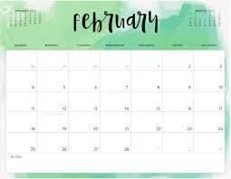 Editable February 2019 Calendar Excel February Calendar