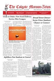 Maroon-News 2.20.14 by The Colgate Maroon-News - issuu