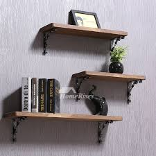 contemporary wall shelves wooden ledges