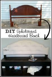 furniture repurpose ideas. Tufted Upholstered Headboard Bench BenchesHeadboard IdeasUpholstered HeadboardsFunky FurnitureRepurposed Furniture Repurpose Ideas