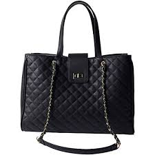 Chavon <b>Womens Tote Bags Premium</b> Top Handle Satchel Quilted ...
