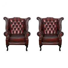 Leather Queen Anne Chairs Queen Anne Armchair A90